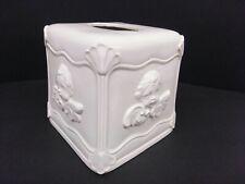 Cherub Ceramic Square Victorian Goth Steampunk Tissue Box Cover
