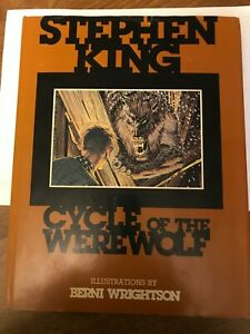 Cycle of the Werewolf By Stephen King First Edition Trade Hardcover 1983
