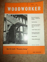 Woodworker April 1961 ~ Retro Vintage Illustrated Magazine + Advertising