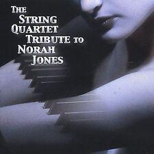 The String Quartet Tribute to Norah Jones by Vitamin String Quartet (CD, NEW