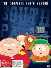 South Park : Season 10 (DVD, 2007, 3-Disc Set) VGC Pre-owned (D103)