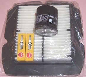 Service kit- Plugs Air & Oil Filter for SUZUKI  DL DL1000 V-STROM 2002 to 2010