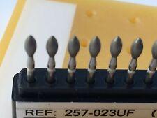 Dental Diamond Burr Ultra Fine ( 20 ) Football Shape (368) # 257-023UF