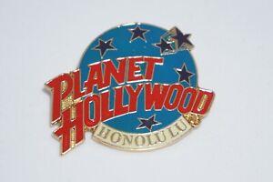 Planet Hollywood Honolulu Classic Logo Pin - Vintage