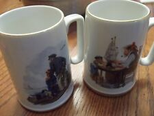 Norman-Rockwell-Museum-Collector-Coffee-Mug-1985-For a good boy & looking to sea
