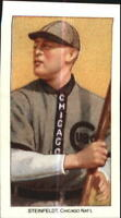 1909-11 T206 Reprint Baseball Card #465 Harry Steinfeldt/with Bat