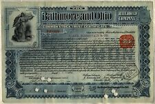 Baltimore & Ohio Railroad Company Stock Trust Certificate
