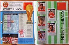 ORBIS 1990 WORLD CUP SOVIET UNION COMPLETE  SET