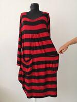 THE MASAI CLOTHING COMPANY DRESS MAXI SIZE:XL VISCOSE ELASTANE