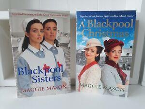 Collection of 2 x Paperback Saga Books - Maggie Mason Blackpool Sisters NEW