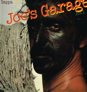 FRANK ZAPPA JOE'S GARAGE ACT I LP VINYL 8 track gatefold with insert and A1/B3 m