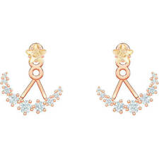 Swarovski5486351 Moonsun:Pierced Earring Jackets, White,Rose Gold plated RRP$129