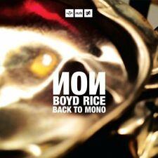 Non / Boyd Rice - Back To Mono (Vinyl + Cd) - LP - New