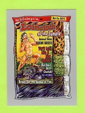 "2017 TOPPS WACKY PACKAGES 50TH ""SILVER BORDER"" LOINCLOTH OF THE JUNGLE #07/50"