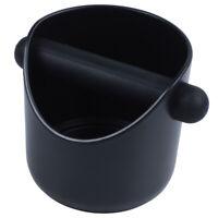 Coffee Grind Knock Box And Espresso Dump Bin (Black) M3X5