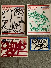 TRIM One TNR + CHINO BYI + SKEME TMT + DESA MTA Graffiti Legends Slaps Stickers