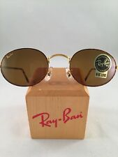 Vintage Ray Ban Bausch And Lomb Oval Tortoise Brown B15 W2473 Sunglasses