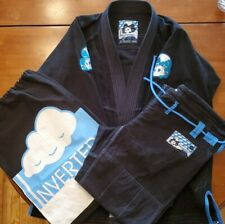 Inverted Gear Light Jiu-Jitsu Gi Black Size A3 used in great condition