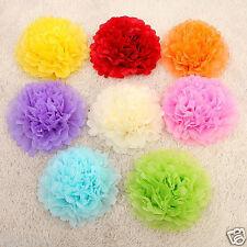"6PCs Tissue Paper Pompoms Hanging Pom Poms Balls Wedding Party Decoration 8"""