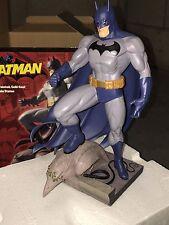 2003 DC DIRECT BATMAN HAND PAINTED COLD CAST PORCELAIN STATUE JIM LEE FULL SIZE