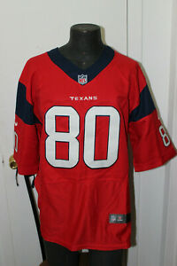 NFL PLAYERS HOUSTON TEXANS #80 ANDRE JOHNSON JERSEY SIZE 44