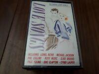 VARIOUS ARTISTS -LOVE SONGS -  CASSETTE TAPE ALBUM  TELSTAR COMPILATION 1980s