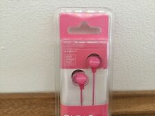 JVC HA-FX23 In-Ear Only Headphones - Pink New Clear Colour