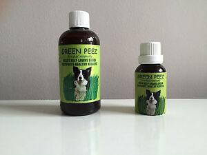 GREEN PEEZ  ( organic urine burn prevention on lawns & turf )