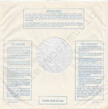 """Vintage INNER SLEEVE or SLEEVES 12"""" IMPORTANT! THE RECORD EQUIPMENT lines v3 x 4"""