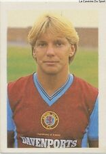 N°022 GARY SHAW # ASTON VILLA PREMIER LEAGUE 1984 QUADRIGA STICKER