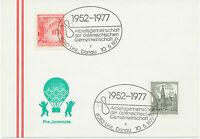 A 4010 LINZ, DONAU 1952-1977 Arbeitsgemeinschaft der Österreichischen Gemeinwirt