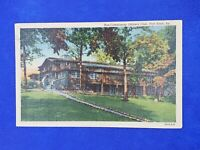 1942 KY Fort Knox Non Commission Officers Club Postcard Vintage Linen w/ postmrk