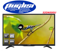 "TV LED 32"" POLLICI 32DN5T2 HD SCART USB HDMI DVB-T2 DECODER INTEGRATO ARIELLI"