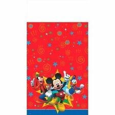 "Mickey Mouse Clubhouse Plastic Tablecover 54"" x 96"" Birthday"