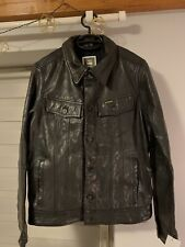 G-Star Raw Slim Tailor Leather Jacket size S