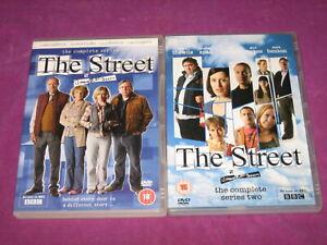 THE STREET - THE COMPLETE SERIES 1 & 2 - 2007 DVD 2 x BOX SET - CERT 15/18
