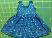 SHIRLEY TEMPLE vestito blu a fiori colori anni '40