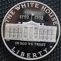 USA ONE DOLLAR LA MAISON BLANCHE 1992 ARGENT