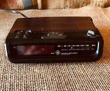 Vintage Ge Am/Fm Clock Radio Model # 7-4613B