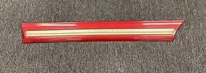 1997-1999 CADILLAC SEDAN DEVILLE LEFT REAR DOOR TRIM MOLDING Crimson Red