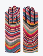 Paul Smith Women's Gloves -BNWT Signature Multi Swirl Leather & Cashmere RRP£150