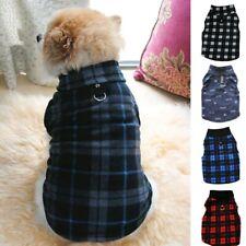 Small Pet Dog Fleece Harness Vest Puppy Winter Warmer Sweater Coat Shirt Apparel