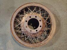 19x5 Original 1930 - 1931 Cadillac 353 & 452 V8 A Type Wire Wheel 8 Lug (003)