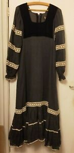 Vintage 1970's Kadix Maxi Dress