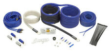 Stinger SK6641 Car Stereo 6000 Series 4 Gauge Power Rca Wire Amp Install Kit
