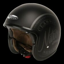 Nitro Graphic Helmets with Integrated Sun Visor