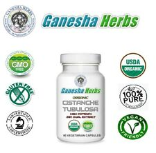 Certified Organic CISTANCHE TUBULOSA High Potency 20:1 extract Veg. Capsules