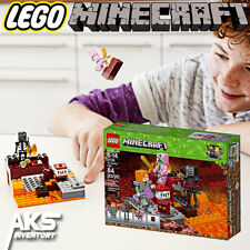 MINECRAFT LEGO THE NETHER FIGHT 21139 - 84 pcs Kids Toy Gift New