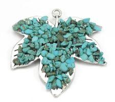 Charms y pulseras de charms de bisutería turquesa