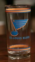 Vintage 60s St. Louis Blues Glass Cup 1969 Burger Chef NHL Hockey